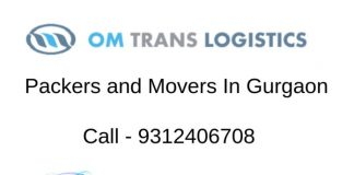 Om trans Logistics Packers and Movers in gurgaon