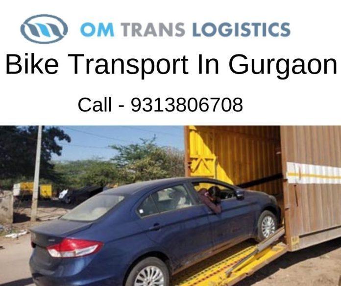 bike transport service in gurgaon