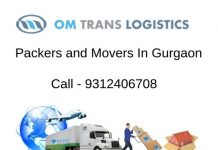 Packers and Movers in Sohna Road Gurgaon